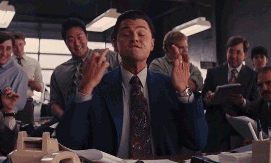 La vraie réaction de @LeoDiCaprio en coulisse des #oscars https://t.co/5Ow1z9yzCH