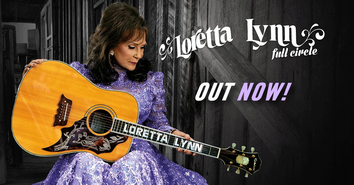 Loretta's first album in 10+ years is here! Get 'Full Circle' now on @itunes: https://t.co/y505wI7J3g #Loretta360 https://t.co/5TQRTS7IyP
