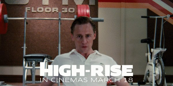 We can't wait for #BenWheatley's @HighRise_movie, starring @twhiddleston. Screening from March 18th. https://t.co/hSRtNfUepx