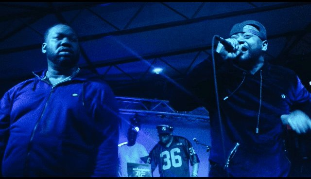 The legendary @Raekwon + @GhostfaceKillah on stage at @mohawkaustin #PeakJoy
