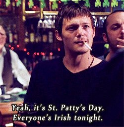 Happy #StPatricksDay from the #boondocksaints! https://t.co/4BC75QVh8C