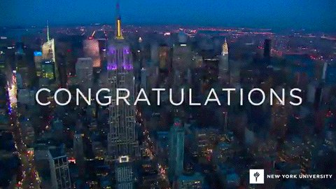 The Class of 2020 receives their acceptance letters today. Let's tell them why you chose #NYU...
