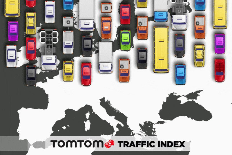 Most congested city in Europe? #TomTomTrafficIndex brings #Moscow all the way to the top! https://t.co/4nmWbMouoQ https://t.co/NrkP6OdwyE