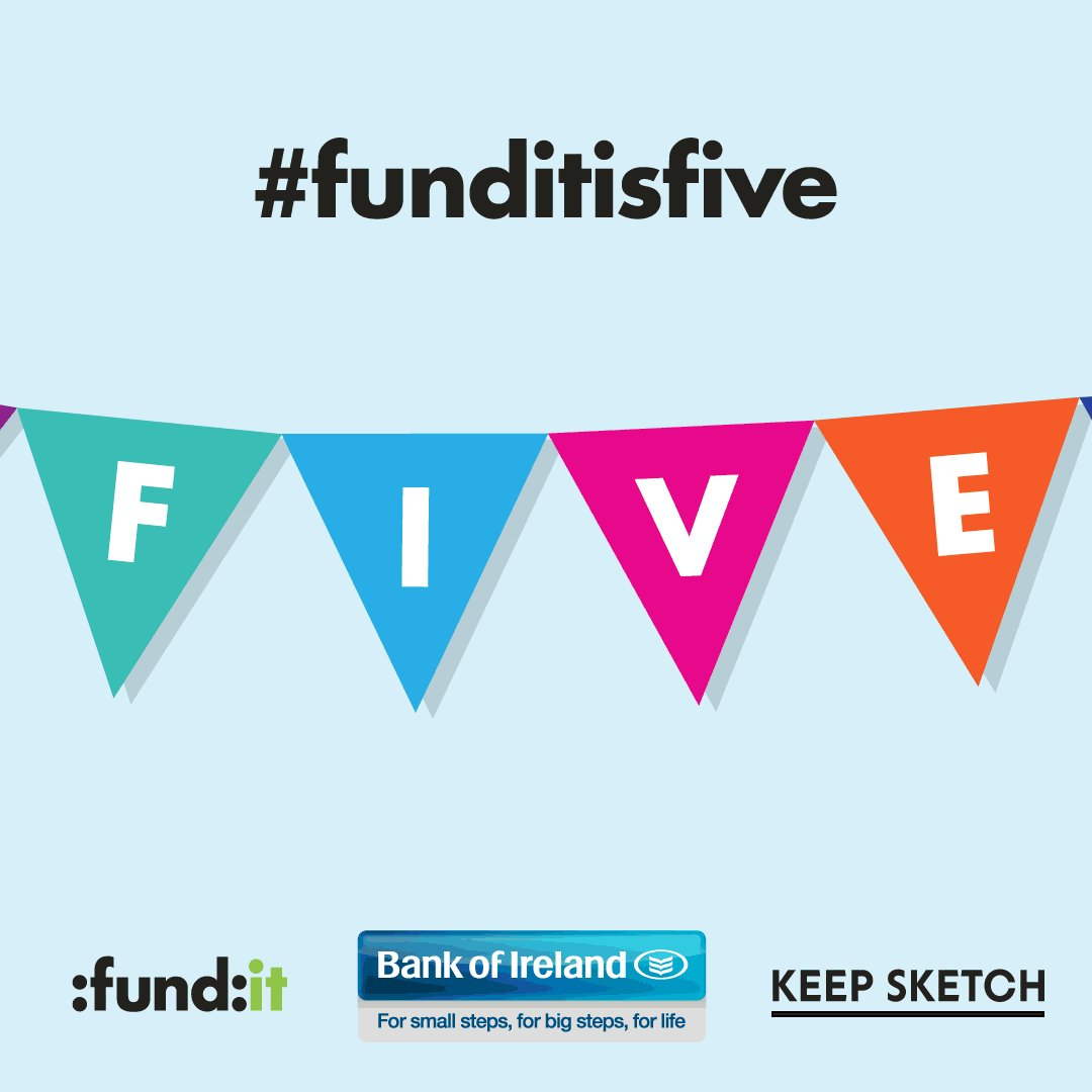 It's our 5th Birthday today and our fabulous friends @keepsketch have designed us quite the treat! #funditisfive https://t.co/NyNegqSvGz