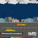 Estamos con #LluviaEnQuito, si te movilizas en auto, acoge estas útiles recomendaciones. #PrevenciónLluviasQuito https://t.co/0tVKesdrUl