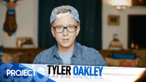 Not long now until @tyleroakley hits #TheProjectTV desk! Tweet along with us on #ProjectTyler! https://t.co/n7OHv386Vq