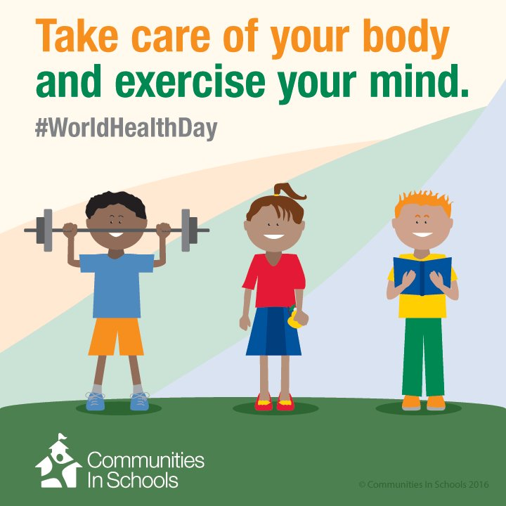 We encourage everyone to #ChangeThePicture of health by eating right and exercising your mind #WorldHealthDay https://t.co/D46Ej7jZE1