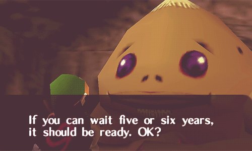 Community: When will Zelda Wii U be ready? Nintendo: https://t.co/6HXOxSeqdh