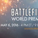 See the future of Battlefield. The #Battlefield World Premiere is on May 6 at 4PM ET. https://t.co/YurgN6rLHW https://t.co/7ULKB6LS47