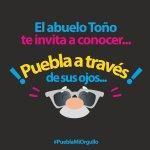 El Abue Toño te invita a conocer Puebla a través de sus ojos. ¡Pregunta por tus lentes! #PueblaMiOrgullo @isrrra6 https://t.co/FfkI8gaBH4