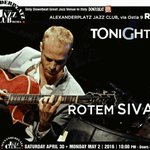 →@APlazJazzClub #Rome @RotemSivan Trio https://t.co/djKqukrhZN TONIGHT 10pm https://t.co/wHDFTMNVLA @FedericaAnto2 https://t.co/RiMQq68EOF