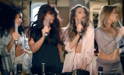 Not just for guilt-free hair styling; ghd stylers are also the faux microphone of choice for @littlemix! #LittleMix https://t.co/P3aPYEUBLd