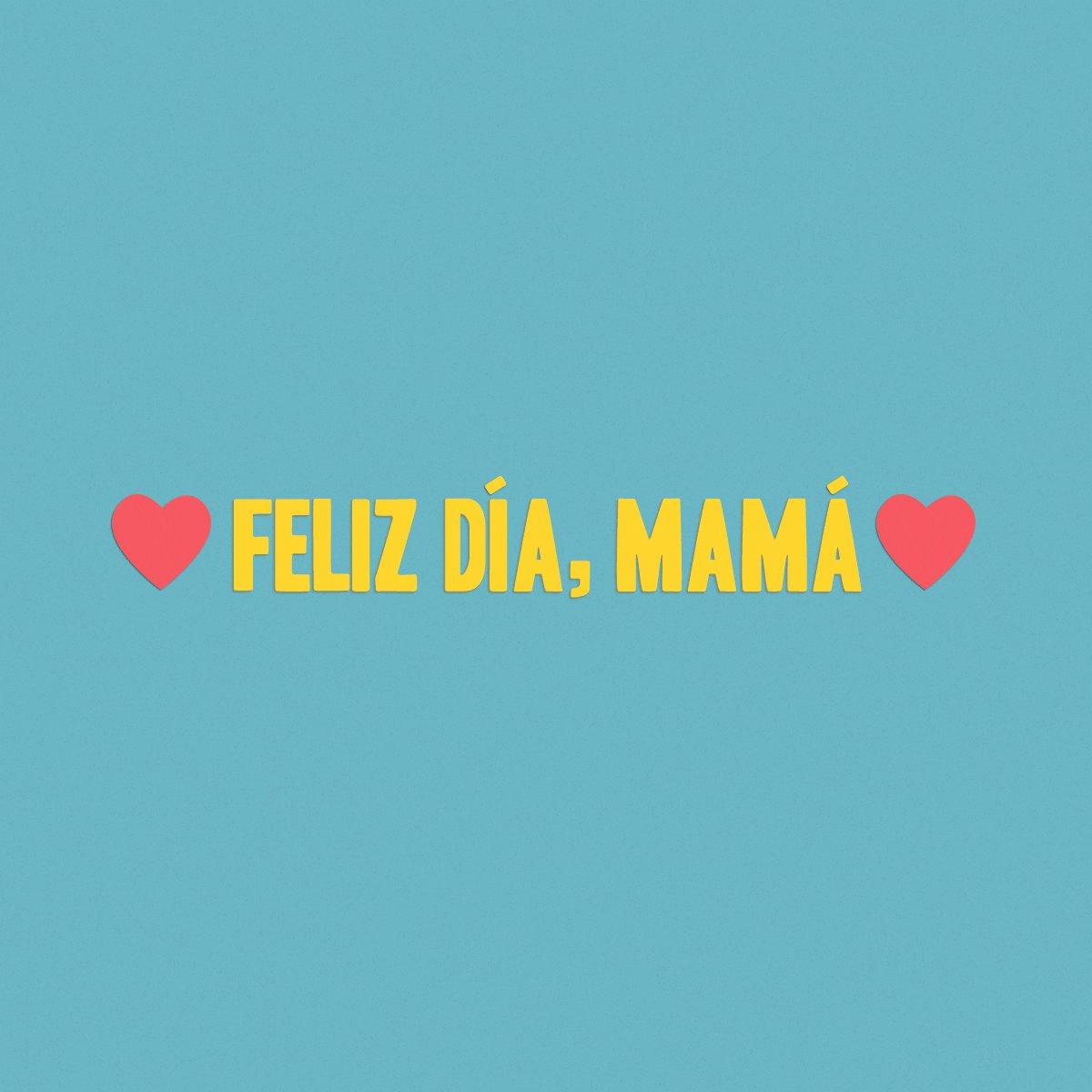 Mamá, por todo lo que haces, te mereces más días como este. ¡Feliz Día de la Madre! https://t.co/FLn2Wq6QeV