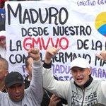 NicolasMaduro: RT candangaNoticia: #ConAmorSeguimosLaMarcha Junto a la clase obrera NicolasMaduro celebró el Día I… https://t.co/Db9pn0Krz3