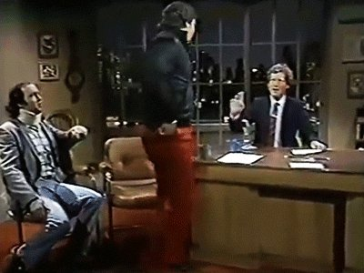 Oh thank god, there's a gif of Kaufman and Lawler's appearance on Letterman. https://t.co/xMyKA8BfS5