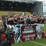 On this day, back in 2015, @JamTarts celebrated their return to the top flight by lifting the Championship trophy. https://t.co/EslIMKpkQ5