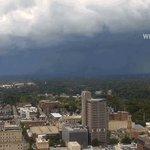 For my next trick, watch Winston-Salem disappear! #TriadWx #ncwx #wsnc @CityofWS @WFMY #severe #storm https://t.co/JHIVWMBR0Y