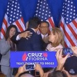 ted cruz elbowing his wife in the face 3 times in a row, and then hugging her, is the awkwardness I live for https://t.co/BxDGABncCd