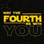 MAY THE FOURTH BE WITH YOU! Its officially STAR WARS day! Read all about it here: https://t.co/gytwn9u58g https://t.co/vHAjGMzwia