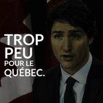 6 mois au pouvoir, peu dactions pour le Québec. #polcan #polqc https://t.co/l7CwPiD3Ld