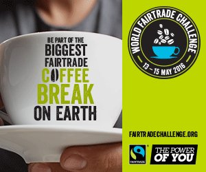 Your morning #coffee can do more! Join the #FairtradeChallenge, 13-15 May! Pls RT! https://t.co/Wunjty8OJ9 https://t.co/cGiLuBSbMM