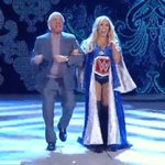 Enjoy @RicFlairNatrBoy ringside for now because hes BANNED at #ExtremeRules. #SmackDown https://t.co/UjTBPue06k