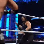 Looks like @WWERomanReigns #DontWantNone either... #SmackDown https://t.co/hjyd3Z22fE