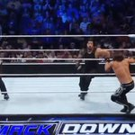 This ALMOST hurts to watch! #SmackDown @AJStylesOrg @WWERomanReigns https://t.co/Jwa5FZaaBH