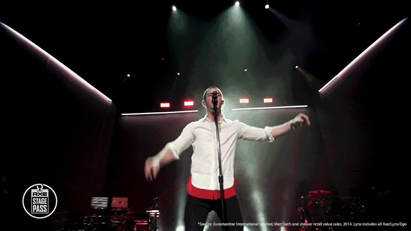 Check out @NickJonas performances brought to you by @AXE, No. 1 Body Wash brand in the world https://t.co/EF38nMDGdp https://t.co/U2uPWMkLAl