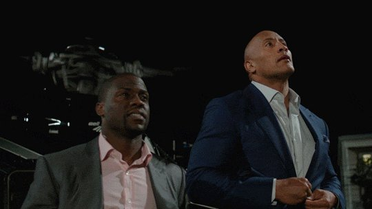 Walking out with your crew tonight like @TheRock & @KevinHart4real... #CentralIntelligence https://t.co/1Iyp1LCDxT