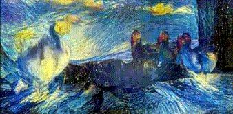 Algorithm turns videos into living Van Goghs: https://t.co/Z0UNpHk2Wh https://t.co/OhDPnEgL0K