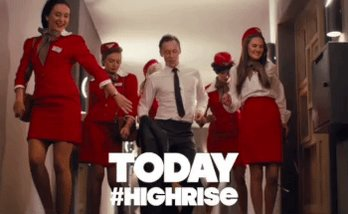 Get down with @twhiddleston in #highrise in theatres today! https://t.co/VvmfvLaVK3