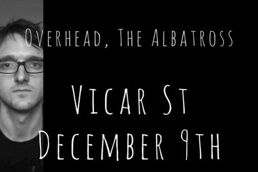 Overhead, the Albatross @Vicar_Street December 9th. Tickets on sale Friday. @OvrhdThAlbtrss https://t.co/9wS0uVw7hg