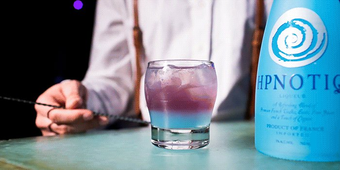 Welcome to Purple Haze...  #Since2001   1oz. Hpno  1oz. Blueberry Vodka  1oz. Blueberry Energy Drink https://t.co/pv053ICm21