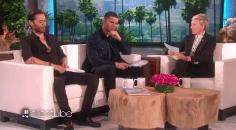 RT @iHeartRadio: .@Drake and @JaredLeto played 'Never Have I Ever' on @TheEllenShow and it was everything. https://t.co/lsSYa60s6T https://…