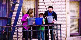 I LOVE the whole intro but my fav part is @AugustMaturo helping @BenSavage & @daniellefishel dump the water. #iconic https://t.co/JF6s51wpE4