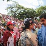 Presidente @NicolasMaduro respalda labor de la Policía Nacional Bolivariana, principalmente al personal femenino https://t.co/H0Q6fFg788