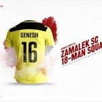 قائمة الزمالك لمواجهة إنبي ببطولة الدوري المصري الممتاز. ⚽️📝 #ZamalekSC https://t.co/XTE2Q83jBO