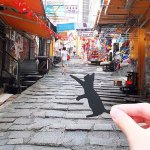 Some of the best Paperboyo inspired #HK photos. Download his paper cutouts & create your own https://t.co/eVfDMjU39u https://t.co/8qHk9Y8HQH