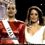 Un 26 de mayo de 1987, Cecilia Bolocco se convierte en Miss Universo #FelizJueves https://t.co/Yy65qvcyho