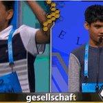 It's a tie! Jairam Hathwar and Nihar Janga are co-champions of the 2016 National #SpellingBee https://t.co/vJF1jrkGBU