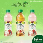 Pause the GIF where it shows all the three flavours of Tropicana Frutz & share the screenshot with #ArtOfRefreshing https://t.co/wMmhYkG3Vp