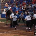 THE MOOSE!!!!!!!! KAYLEE PUAILOA sends Georgia to the Womens College World Series with a two-run HOMER! #D1softball https://t.co/cnQio6qpYp