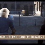 BREAKING NEWS: Weve obtained a preview video of Bernie Sanders debating #ChickenTrump! #BernieTrumpDebate https://t.co/W6sMS77O4A