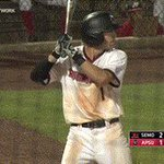 .@ChaseHamilton13 saves a hit with this nice web gem! #LetsGoPeay https://t.co/AdCMqLuJiF