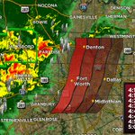 Timeline for storms moving into and through DFW. #dfwwx #NBCDFWStorms https://t.co/GqtCNnZ0OZ