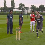 All the best to @RCBTweets and @SunRisers in the @IPL final. Reckon @D_Ospina1s bowling action could catch on? ???? https://t.co/VgwttwopuB