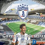 Felicidades @Tuzos ¡Campeones del torneo Clausura 2016! #Tuzos #Campeón https://t.co/OufDlLvncK