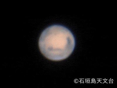 【ほしぞら情報】5月31日、火星が地球に最接近し観望の好機!東京では21時頃には南東の空に見えています。赤く輝く火星を探してみてください。動画は石垣島天文台が撮影した火星 https://t.co/gPLQK3VkDd #国立天文台 https://t.co/6QSUDuvdkY