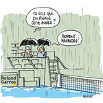 Roland Garros : La France a toutes ses chances cette année car ... année pluvieuse, année heureuse. (Par @fdeligne) https://t.co/wR2qnOwMS4